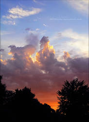 Fiery Sunset by MissNysha