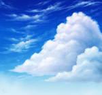 SAI Practice: Clouds by MissNysha