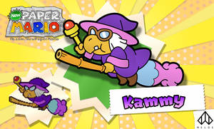 New Paper Mario: Kammy Koopa by Nelde