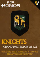 For Honor   Faction   Knights by FALLENV3GAS