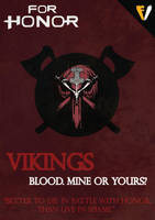 For Honor | Faction | Vikings by FALLENV3GAS