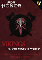 For Honor   Faction   Vikings by FALLENV3GAS