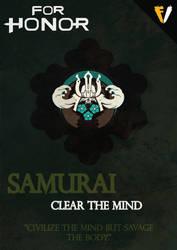For Honor | Faction | Samurai by FALLENV3GAS