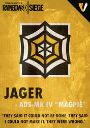 Rainbow Six Siege | GSG 9 | Jager by FALLENV3GAS