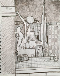 Urban Climb by MildMisanthropy