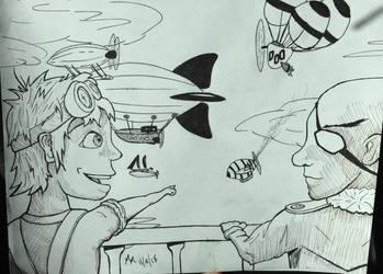 Airship Derby by MildMisanthropy