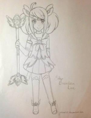 Star Guardian Lux sketch by Juliana1121