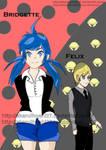 Bridgette y Felix 2 by Akaruihoshi27