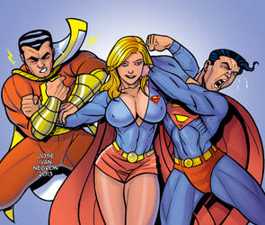 Well Shazam ! She's Super Strong ! by JINworks