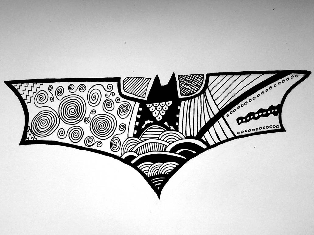 Batman Logo Doodle By Lipterioscopic On Deviantart