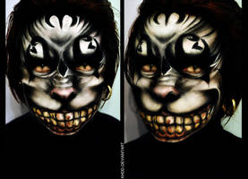 Makeup: Cheshire Cat by Khdd