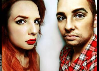 Makeup: Gender Swap by Khdd