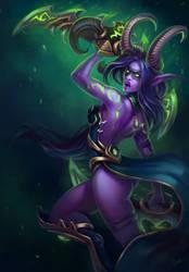 Demon Hunter by Svelien