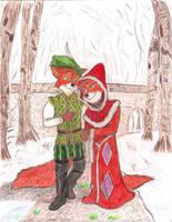 A Winter Stroll by MercerMZ