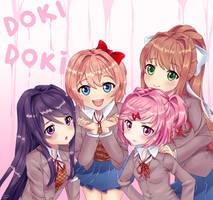 Doki Doki Literature Club by GelyaFX