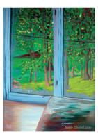 Through the Window by NatalieLizzie