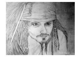 Captain Jack Sparrow by NatalieLizzie