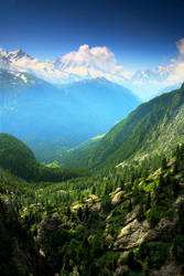 Vallorcine valley by chavez666