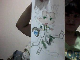 Progreso de Dibujo de Loki chibi by DanielaKairyu
