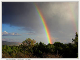 Southwest Rainbow by GramMoo