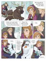 SCORCHED (Frozen graphic novel) Page 1 by RemainUndefined