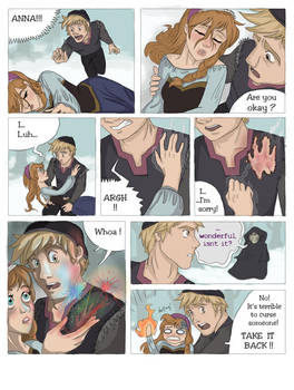 SCORCHED (Frozen graphic novel) Page 3 by RemainUndefined