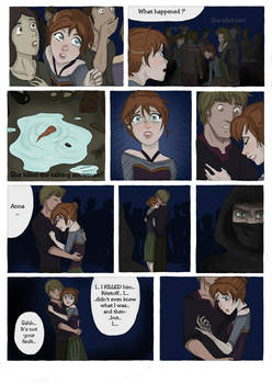 SCORCHED (Frozen graphic novel) Page 8 by RemainUndefined