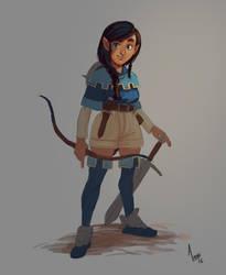 Little Archer by AlexandreLeoniART