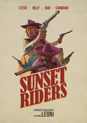 Sunset Riders by AlexandreLeoniART