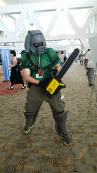 Doomguy costume by realjack