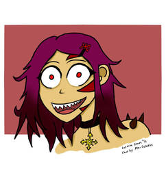 Cultist-chan doodle by realjack