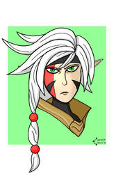 Thorn doodle for Battleborn Day 2016 by realjack