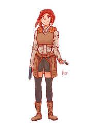 cold chamber guns 002 : Kate by shuandang