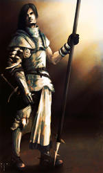 Captain of the Sorgue - colour by Dahlieka