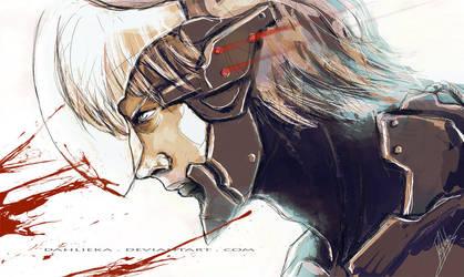Metal Gear Solid - Raiden by Dahlieka