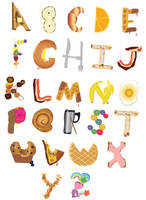 A to Z Brunch Foods by frost-rot
