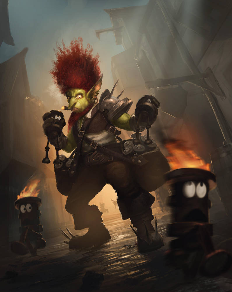 Goblin wildfire by PascaldeJong