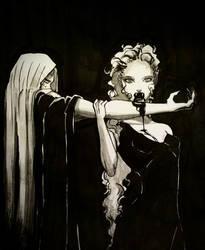 Vampire taste by siulziradnemra