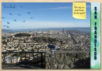 Cisco Travel Journal - City by crocusgirl