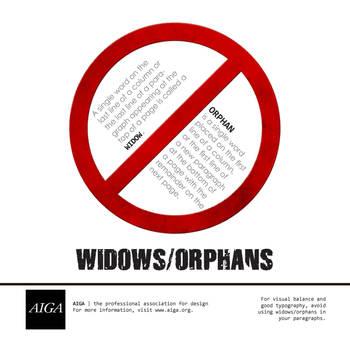 Widows_Orphans by crocusgirl
