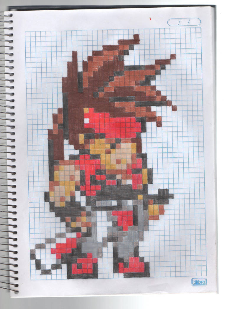 Sol Badguy Sprite Guilty Gear Petit By Recastanho On Deviantart