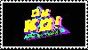 Ok K.O.! Let's Be Heroes stamp by recastanho