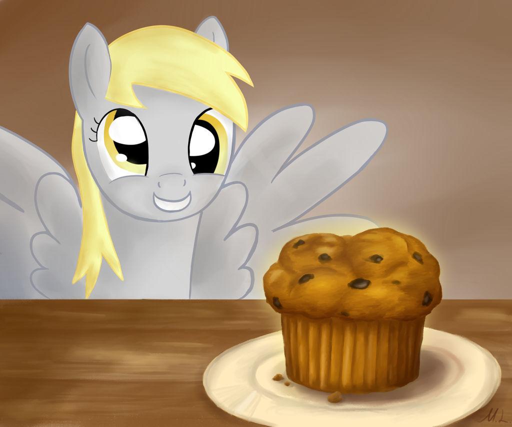 Derpy's Muffin by Cyberdrace