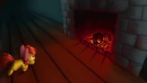SOTB - The Fireplace by Cyberdrace