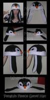 Penguin Fleece Genki Hat by ZenAndCoffee