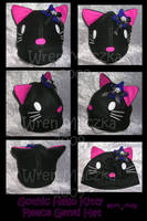 Goth Hello Kitty Fleece Genki by ZenAndCoffee