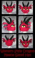 Euro Dragon Fleece Genki Hat by ZenAndCoffee