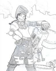 WH40k - Vostroyan Girl by tunatorpedo
