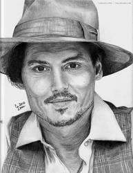 Johnny Depp by cmloweart
