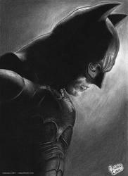 The Dark Knight by cmloweart